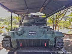 M-24 Chaffee Tank. (Mohit S92) Tags: cavalrytankmuseum tank museum ww2 m24chaffee m24 usarmy samsung j72016 j76 maharashtra india snapseed military army