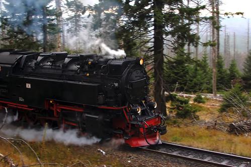 Schmalspurbahn am Brocken