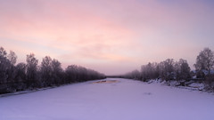 Winter (samiKoo) Tags: snow ice landscape river frozen nature naturallight naturephotography morning sunrise sky colours colors colourful photography photo photograph canon 6d 24105mml finland