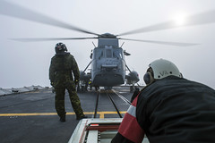 Operation REASSURANCE (RCAF-ARC) Tags: ch124 exterieur exterior rk9sq0ugqynssuvotku hmcs charlottetownhommeshorizontalmarine royale canadiennemedium shotmenmilitary personnelncsm charlottetownpeoplepersonnels militaireplan moyenroyal canadian air forceroyal navysea king helicopterforce aérienne