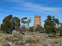 The Watchtower (jimmywayne) Tags: arizona grandcanyon nationalpark coloradoriver landscape coconinocounty watchtower