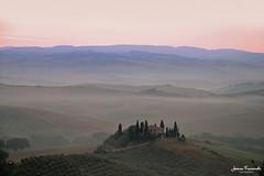 Risveglio in Val d'Orcia (Jessica Fraccaroli) Tags: val dorcia san quirico oliveto podere belvedere