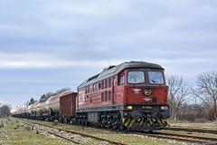 07 050 (Rivo 23) Tags: bdz cargo bulgarian state railways class 07 050 diesel locomotive ludmilla 5d49 engine freight train kardam railway station бдж товарен влак дизелов локомотив гара кардам