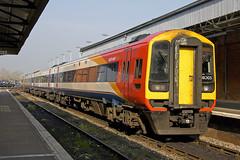 159005 at Salisbury (Railpics_online) Tags: class159 dmu sprinter dieselmultipleunit 159005 salisbury diesel multipleunit passenger train railway railcar uk