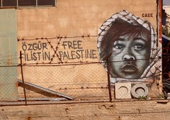 Graffiti in Palestina (Bethlehem)