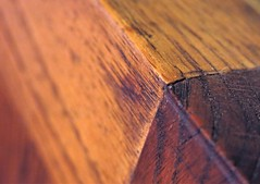 Oak bench detail (karma (Karen)) Tags: home benches oak macros wood grain hbm macromondays hmm hbw