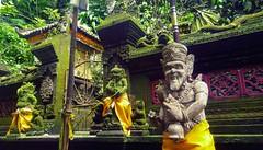 Guardians of the Gate (Mobile Macrographer) Tags: bali temple holy springs sebatu guardians dwarapala smartphone photography mobile macrographer lgg4 ngc cc jungle outdoor statue indonesia ubud