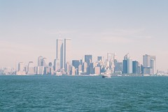 Manhattan (misterperturbed) Tags: newyork worldtradecenter twintowers manhattan film