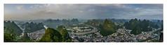 Yangshuo landscape (maubri) Tags: yangshuo china landscape cina xian xingping mountains li river 阳朔县 桂林 漓江 兴平市 allaperto acqua mare calma liriver 20yuan panoramica