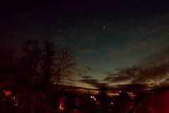 (frogghyyy) Tags: sky stars space skyline blue bluesky twilight tramonto sunset sunlight city lights clouds nuvole landscape panorama trees star nature natureshot naturescene