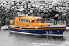Leverburgh Lifeboat Scotland (David Russell 600K views thank you.) Tags: lifeboat rnli rnlb royal national ifeboat institution life boat ship vessel vehicle transport emergency service rescue leverburgh scotland isle island harris outer hebrides water sea ocean port harbor harbour orange blue travel mooring buoy 1236 thames mersey class pier outdoor
