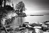 Yvoire ô Yvoire quelle est la plus glacée du royaume ? (flo73400) Tags: nb bw le longexposure poselongue paysage landscape yvoire france hanks