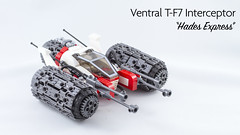 Ventral T-F7 Interceptor (nexcidia) Tags: moc afol space spaceship lego spacefighter ship star fighter