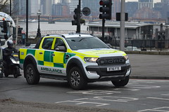 Ford Ranger Emergency First Responder - BT16 FTE (Matthew Cammack) Tags: ambulance emergency first responders bt16 fte nhs ford ranger