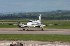 M-SPEQ (aitch tee) Tags: aircraft beech turboprop walesuk cardiffairport superkingair maesawyrcaerdydd cwlegff signatureaircrafthandling parkedonthecambrian mspeq