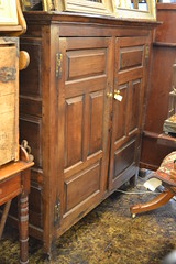 """17th Century English Oak Cupboard. No Shelves. As-is Interior • <a style=""""font-size:0.8em;"""" href=""""http://www.flickr.com/photos/51721355@N02/18277587038/"""" target=""""_blank"""">View on Flickr</a>"""