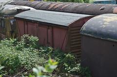 784520 Bury 170514 (Dan86401) Tags: wagon bury br elr freight eastlancashirerailway eastlancsrailway vwv ventilatedvan ventvan vanwide 784520 b784520
