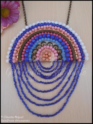 """Colar comprido """"Rainbow"""" (colecção Primavera-Verão 2015)"""
