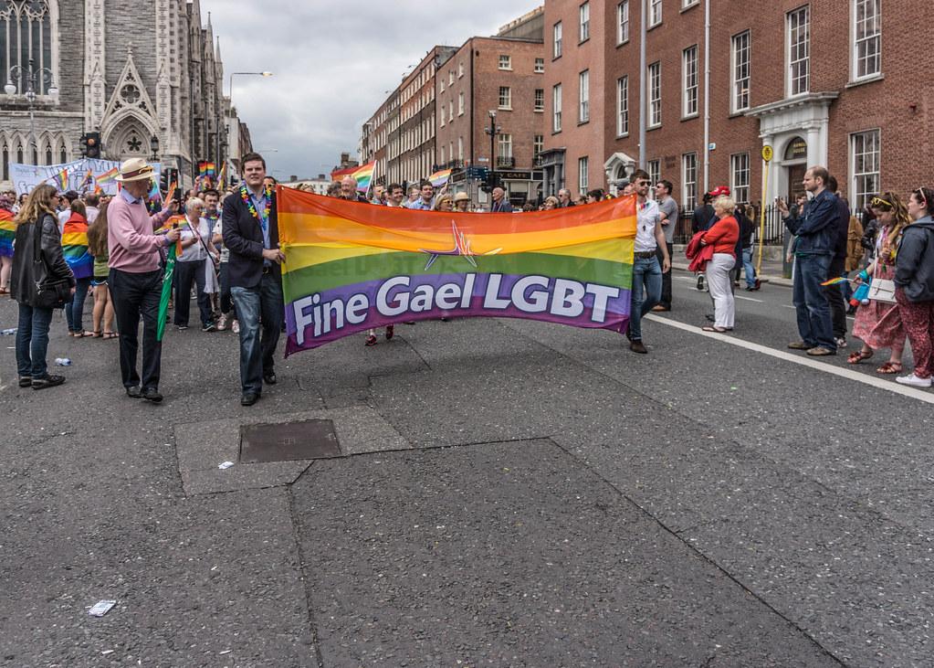 DUBLIN 2015 LGBTQ PRIDE PARADE [THE BIGGEST TO DATE] REF-105949