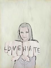 . (mashkagav) Tags: love hate summer2012