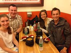 Repas avec Artiom et Ulianna