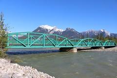 Snaring River Bridge (Jasper National Park, Alberta) (cmh2315fl) Tags: canada alberta jaspernationalpark canadianrockies trussbridge ponytruss canadianbridge snaringriver warrentruss warrenponytruss snaringriverbridge polygonalwarrenponytruss snaringriverroad