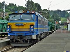 251 (firedmanager) Tags: train tren asturias mitsubishi ferrocarril freighttrain renfe trena lareina 251 carbón mercancías 251004 renfemercancías villabonadeasturias