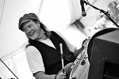 Eric Selby (Alexander C. Kafka) Tags: blackandwhite bw musician music monochrome drum percussion blues drummer glenecho washingtonfolkfestival warnerwilliams ericselby
