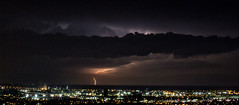 Lightning (Metro Tiff) Tags: storm nature weather clouds hamilton ground bolts lightning strikes severe electrcity