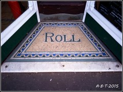 Mosaic Shop Entrance. Saithe Street Wells-Next-The-Sea (Alan B Thompson) Tags: phone mosaic sony norfolk picasa eastanglia 2015