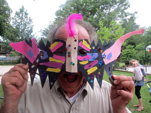 """Artist in Residence - Mask and Book making 2 - jerry • <a style=""""font-size:0.8em;"""" href=""""http://www.flickr.com/photos/90817668@N02/19257759090/"""" target=""""_blank"""">View on Flickr</a>"""
