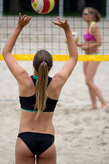 O7124442 (roel.ubels) Tags: beach sport nijmegen beachvolleyball volleyball volleybal eerste beachvolleybal 2015 topsport divisie