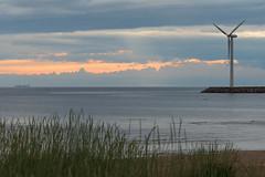 Marjaniemi, Hailuoto, Finland┃DSC_4190 (Anne Kaihola) Tags: sunset summer sky seascape windmill suomi finland island evening nikkor afs auringonlasku saari taivas tuulimylly hailuoto merimaisema afsnikkor70200mmf4gedvr nikond610 annekaihola