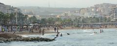 Tarde calurosa (GonzalezNovo) Tags: summer beach playa verano melilla torodeosborne veraneo photowalkmelilla playadeloscrabos