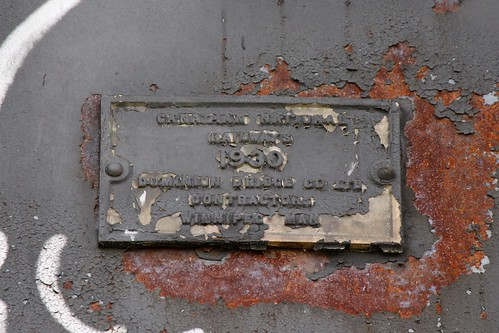 Canadian National Railway Bridge Builders Plaque (Moose Jaw, Saskatchewan)