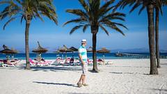 DSC03598-53 (monika.oliwiak) Tags: blue summer sky holiday beach palms majorka