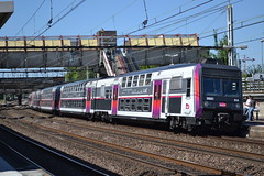 SNCF Transilien RER C 01A 20501 - 20502 (Will Swain) Tags: travel france train de french europe gare c south transport platform july rail railway des east 10th railways franais socit parisian fer rer sncf nationale transilien 2015 chemins 20501 20502 01a choisyleroi
