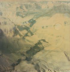 Pima Point (Colton Davie) Tags: arizona film landscape polaroid sx70 desert grandcanyon january roadtrip instant 2012 polaroidsx70 pimapoint polaroidfadetoblack