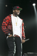 Fifty Cent performs at the O2 London for Musicalize 17/07/2015