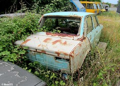 Fiat 128 (Alessio3373) Tags: abandoned graveyard rust neglected rusty forgotten rusted junkyard scrapyard scrap abandonment corrosion decayed corroded ruggine rustycars unloved unused scrapped abandonedcars junkcars fiat128 scrappedcars forgottencars autoabbandonate