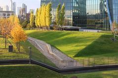 Sicherheitszone, Frankfurt am Main 2016 (Spiegelneuronen) Tags: frankfurtammain ostend europäischezentralbank