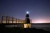 Battery Point Lighthouse (L Hughesy) Tags: lighthouse night stars sky color colour sea exposure longexposure seaside portishead bristol beach light batterypoint