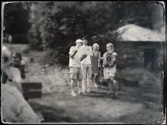 the Band... (iEagle2) Tags: midsummer iphone iphone4 tintype sweden summer