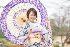 278A0454 (tsuchinoko36) Tags: 佐野真彩 撮影会 モデル タレント キャスター 撮影 写真 ポートレート 振袖 花田苑 portrait photo japan furisode 着物 kimono