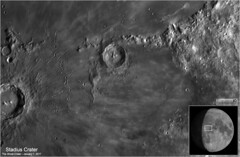 Stadius Crater – The Ghost Crater - January 7, 2017 (Tom Wildoner) Tags: tomwildoner leisurelyscientistcom leisurelyscientist moon lunar crater stadius ghostcrater astronomy astrophotography astronomer zwo asi290mc meade telescope lx90 celestron cgemdx nightsky night january 2017 weatherly pennsylvania solarsystem moo