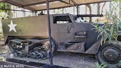 T48 Gun Motor Carriage. (Mohit S92) Tags: cavalrytankmuseum tank museum ww2 t48gmc gmc halftrack usarmy samsung j72016 j76 maharashtra india snapseed military army