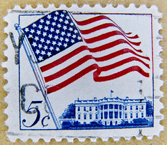 *peace* great stamp USA 5c (Washington D.C., The White House, Weißes Haus, Белый дом, Casa Blanca, ホワイトハウス, Maison-Blanche, Casa Branca, 白宮, Beyaz Saray; United States of America US flag stamp USA 5 c cent timbre États-Unis u.s. postage stamp selo Estados (stampolina, thx! :)) Tags: stamp stamps timbre postestimbres bolli francobolli sello franco porto bollo postage briefmarken selo почтоваямарка 邮票 yóupiào γραμματόσημα frimærker 우표 markas znaczki postaücreti pullar ค่าไปรษณีย์ bélyegek usa unitedstatesofamerica unitedstates america amerika vereinigtestaaten uspostage stars stripes 5c flag starspangledbanner starsandstripes 5 five francobollo frimaerke timbreposte postes selodecorreio sellodecorreo statiuniti сша марки thewhitehouse weiseshaus белыйдом casablanca ホワイトハウス maisonblanche casabranca 白宮 beyazsaray washington washingtondc