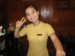 Sally (Asian.Amour2) Tags: asia asian aodai beautiful beach cute cutie classy dress e elegant sexy gorgeous girl happy hotel hoian harbor harbour lady oriental ocean woman pretty river sweet smile server uniform vietnam vietnamese waitress