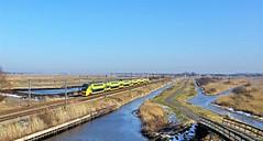 Nieuwe Verpakking (Peter ( phonepics only) Eijkman) Tags: zaandam zaanstad zaan zaanstreekwaterland nederland netherlands nederlandse noordholland holland ns nederlandsespoorwegen spoorwegen rail rails railways railway spoor virm trein train trains treinen