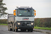 Renault Tipper L Lynch LK64 CKP (SR Photos Torksey) Tags: truck transport haulage hgv lorry lgv logistics road commercial vehicle freight traffic renault tipper lynch